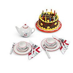 American Girl® Accessories: Molly's Birthday Set