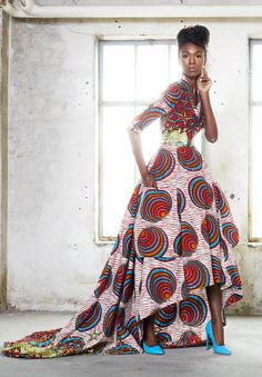 The Funky Grooves collection from Vlisco's.