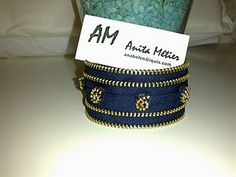 How to: Zipper bracelet.