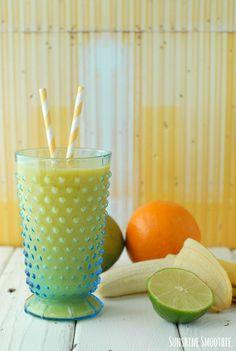 Sunshine Smoothie  - BoulderLocavore.com #smoothie #healthy