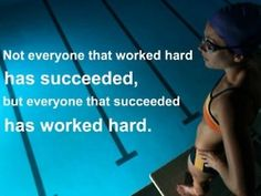 work hard, fit, working hard, motivational quotes, inspirational quotes, swim quotes, workout videos, sport quotes, swimmer