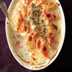 Two-Potato Gratin | MyRecipes.com