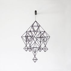 modern mobile  himmeli no 5 by AMradio on Etsy, $97.00
