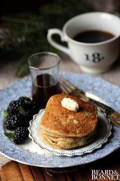Eggnog Pancakes  #glutenfree #dairyfree