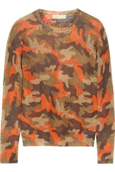 Shop now: Camo Sweater