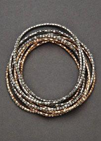 Stretch Crystal Multi Bracelet, Style 12034142 #davidsbridal #homecoming #jewelry