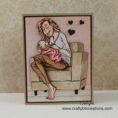 Sophie Sitting Baby. Skin: E000, E00, E21, E11, R20 Hair: E53, E55, E57 Shirt: R0000, R000, R00 Pants: E55, E57, E59 Blanket: R30, R32, R35 Sofa: E42, E43, E44, E47, E49