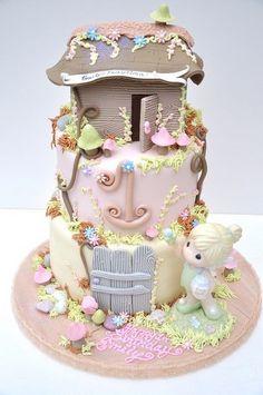 sweet little girl cake.
