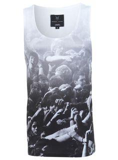 The Reggie Yates Mosh Pit Scene Printed Vest
