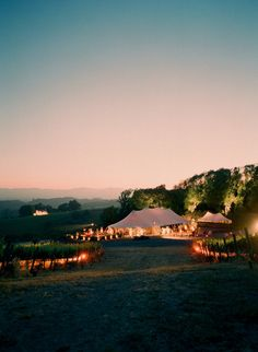 the perfect tent wedding reception