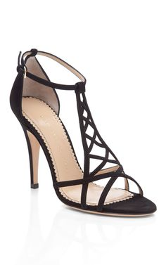 Black Marianne by Charlotte Olympia
