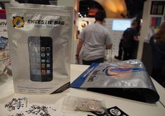 Bheestie Bag;  most effective means of removing water from your IPhone avoiding further damage.