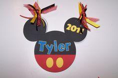 Tyler's Autograph Book - Scrapbook.com - Super great idea to make an autograph book when visiting a Disney Theme Park. #disney #scrapbooking #craftprojects #minialbums