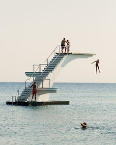 elli beach, rhodes, greece//