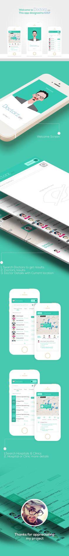 Doctorz Mobile app by AlHasan AlDasooqi