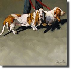Great artist + Great Subject = Karin Jurick's Dog Paintings