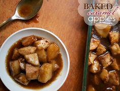 Baked Caramel Apples