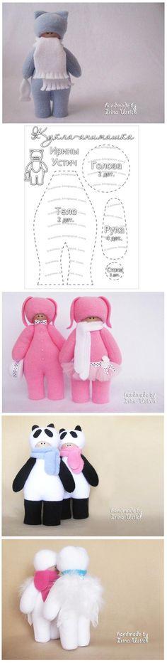 DIY Fabric Little Doll