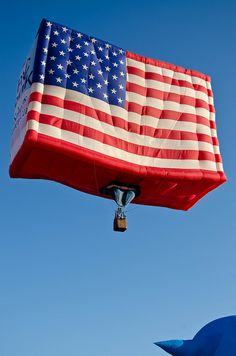 U.S.Flag Hot Air Balloon