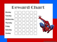 Printable Reward Charts