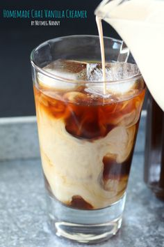 Homemade Chai Vanilla Creamer!