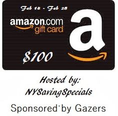 #Giveaway Win a $100 Amazon Card!