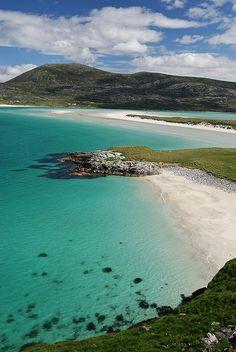Seilebost, Harris, Outer Hebrides, Scotland. by John Dera