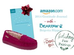 BEARPAW Brigetta Slipper + Amazon's 2014 Gratitude Journal