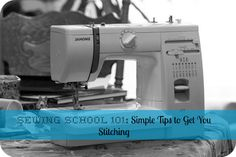 Always wanted to learn to sew but didn't know where to start? Sewing School 101 is a handy little e-book that teaches you EVERYTHING you need to know!