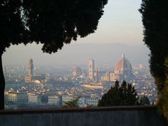 Florence, Italy.  One of the most romantic places I know...