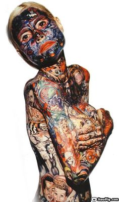 Extreme Body Modification - Bing Images