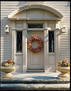 Celebrate the arrival of fall by making your own bittersweet wreath, designed by Martha Stewart. Click through for the how-to.