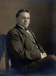 U.S. Representative Carter (Cherokee), 1911  by Marquette University Archives, via Flickr, but what was his native name?  Where was this taken?