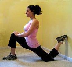 Low Back Pain? Try Stretching Your Hip Flexors...good to know!