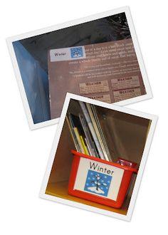 Put labels on backs of books to show where they belong #basketsandbins #books #classlibrary #classroommanagement #classroomsetup #labels #organization