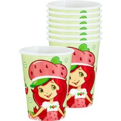 Strawberry Shortcake Party Cups 8ct - Party City