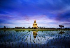 A biggest Buddha in Thailand