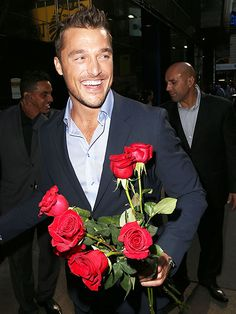 Yes, we accept your rose! New Bachelor Chris Soules looks ready to meet his leading lady while appearing on Good Morning America in New York City on Wednesday.