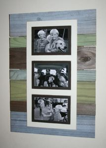 Perfect rustic picture frame for family memories