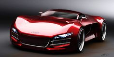 Awesome Audi R10 Concept! Super Cars