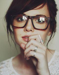 I like her glasses