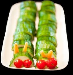 Very Hungry Caterpillar Party Ideas/Inspiration feature on www.partyfrosting.com
