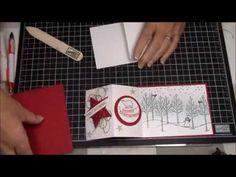 Fancy Fold White Christmas Video Tutorial... - YouTube