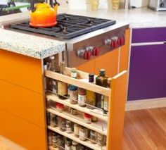 Spice and Oil Storage