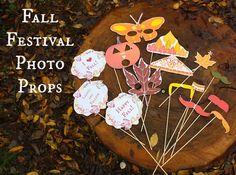 Fall Festival Photo Props