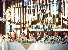 barn reception, photo by Danielle Poff http://ruffledblog.com/dana-powers-house-wedding #weddingideas #weddingvenue #barnwedding