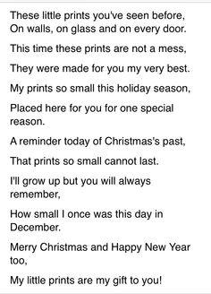 Christmas Handprint Poem http://m.voices.yahoo.com/christmas-hand ...