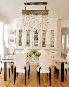 Chic Dining Room  South Shore Decorating Blog: Rachael Reider