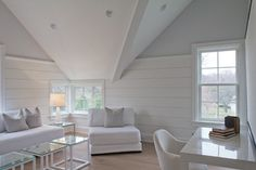 Vicente Burin Architects - farmhouse - family room - new york - Vicente Burin Architects