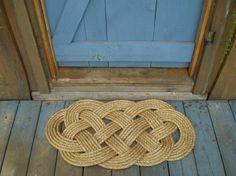 Nautical Decor - Front Doormat or Rug - Nautical Doormat via Etsy